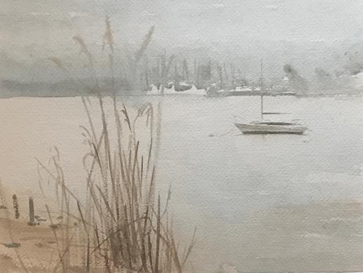 Fog on Harbor