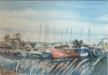 Docked Boats
