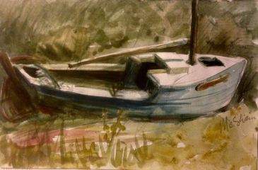 Sun on Boat